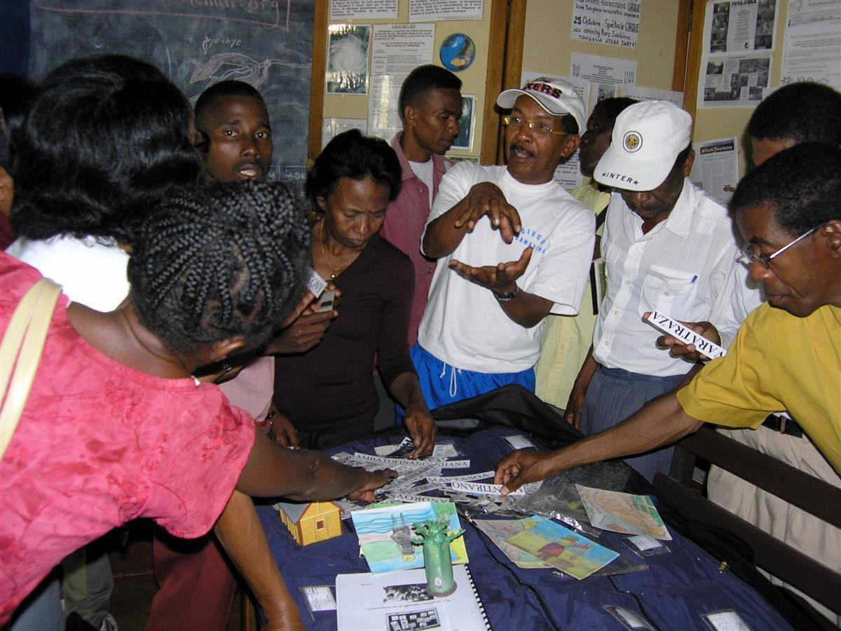Train the teachers, Environmental Education Centre, Madagascar