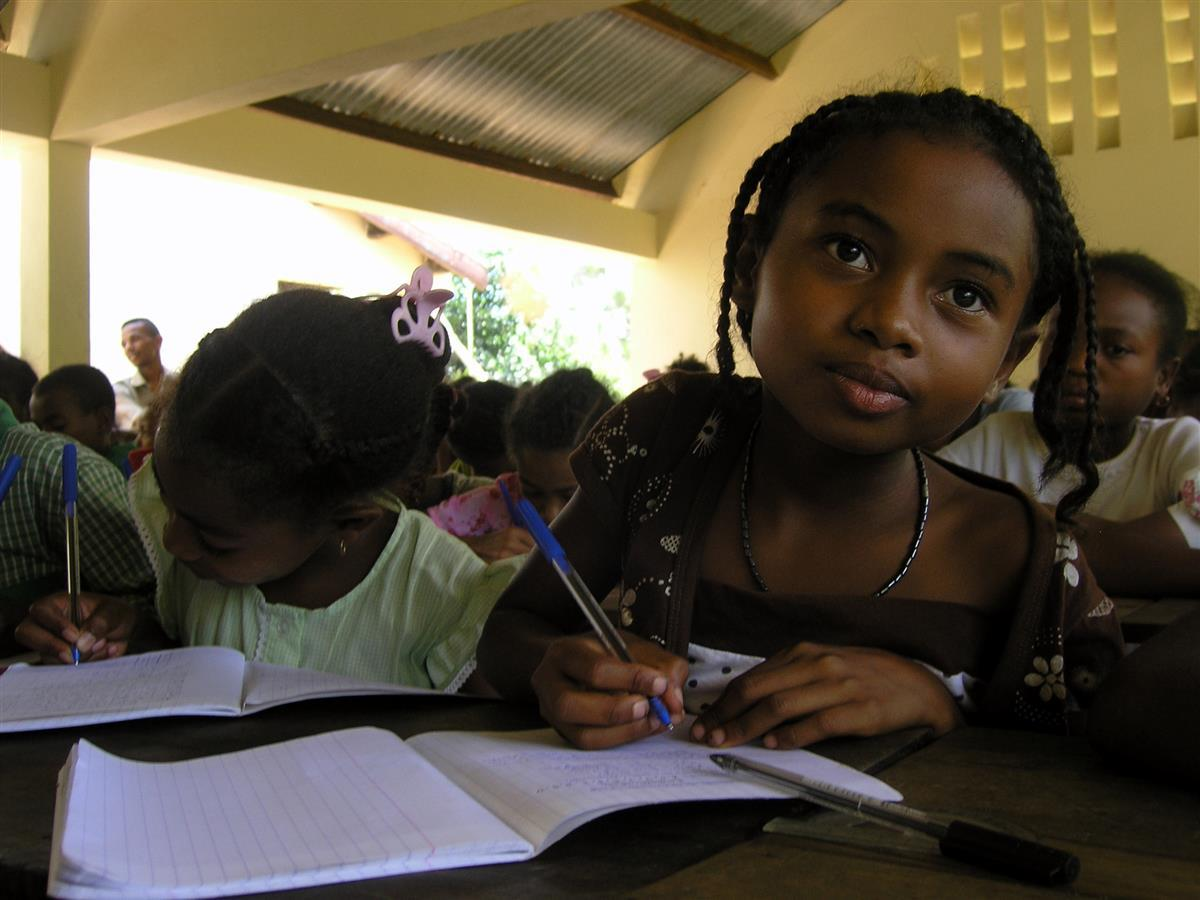 Saturday School, Parc Ivoloina, Madagascar