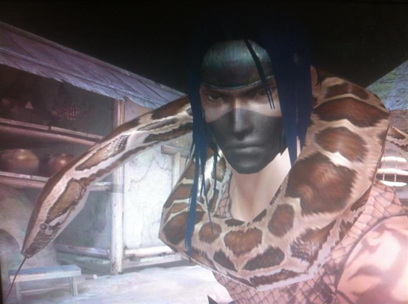 My Tenchu Z character at the time, 2013
