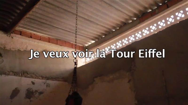 Je veux voir la tour Eiffel