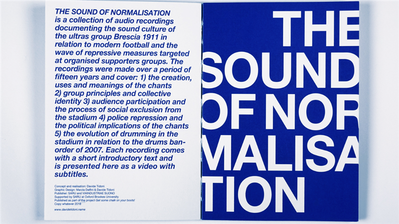 The Sound of Normalization / 2015