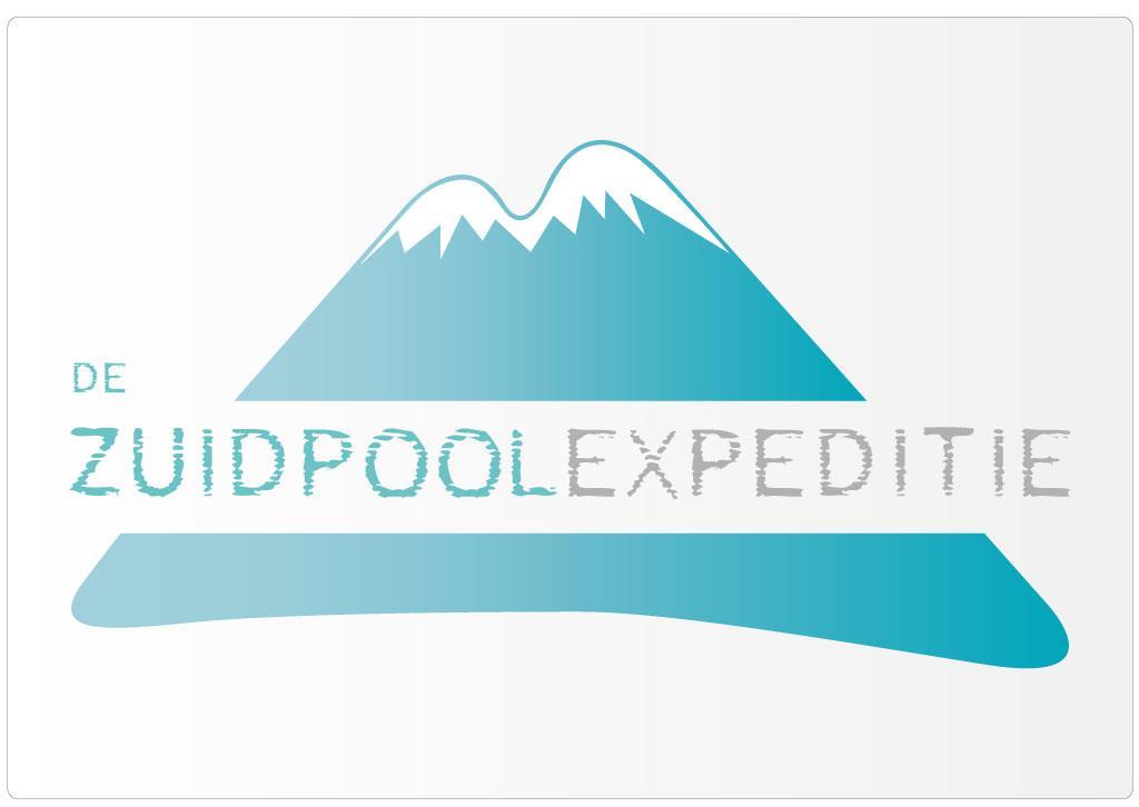 Logo voor De Zuidpoolexpeditie van Tom Spitaels