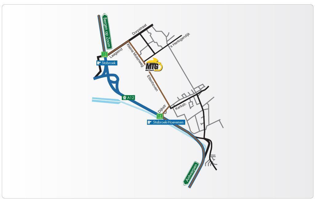 Grafische route beschrijving