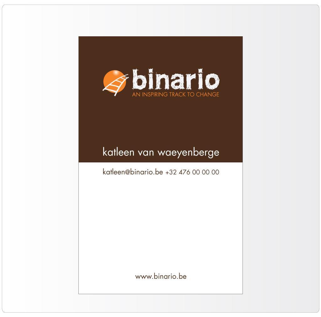 Naamkaartje voor Binario