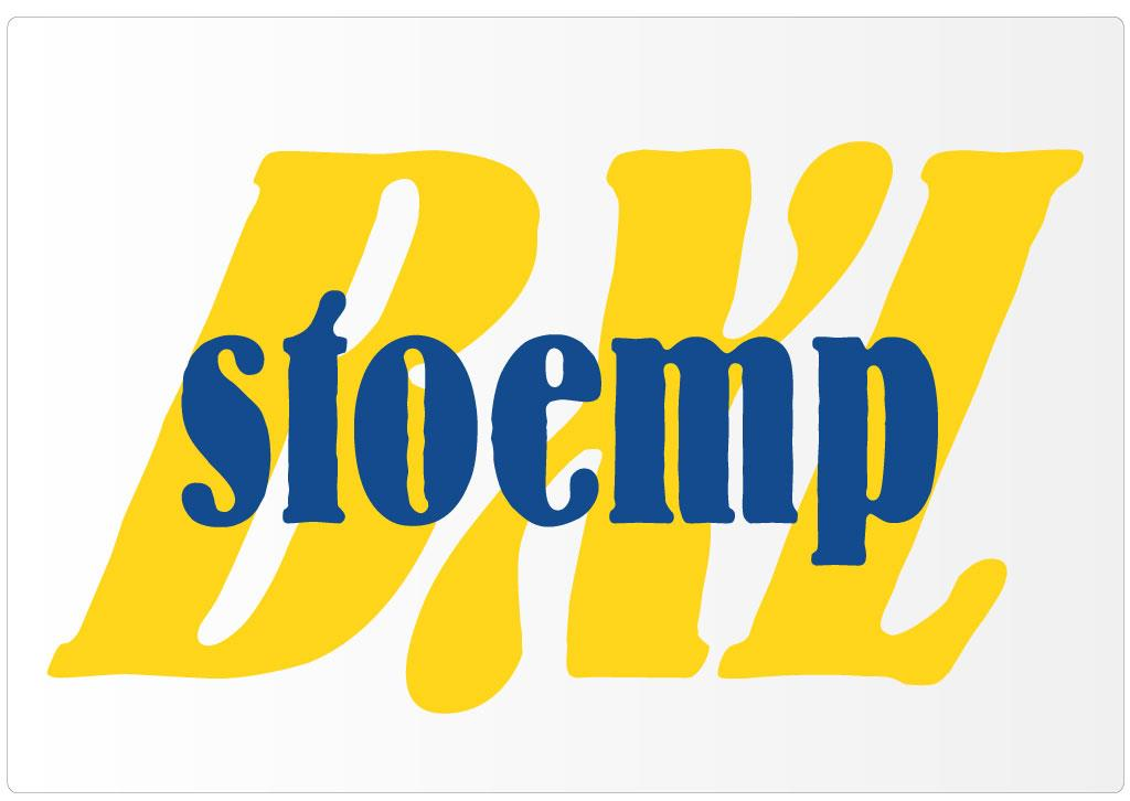Logo voor Stoemp, lecture series for SMIT-VUB-iMinds