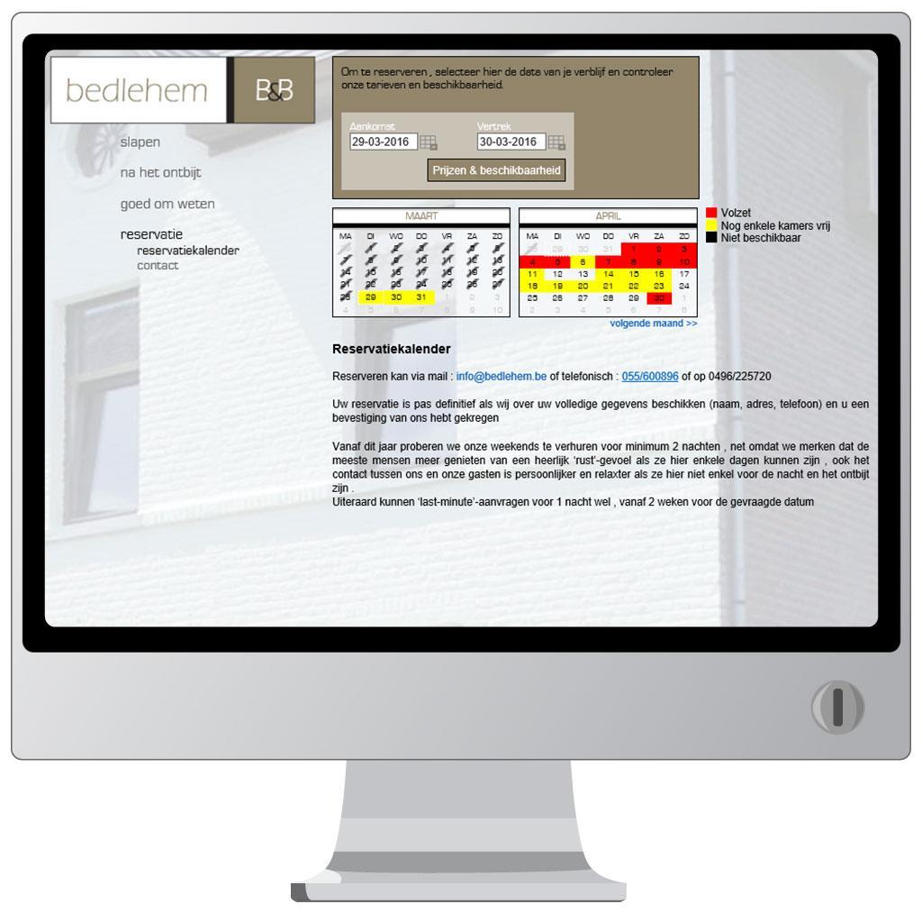 Website voor Bedlehem