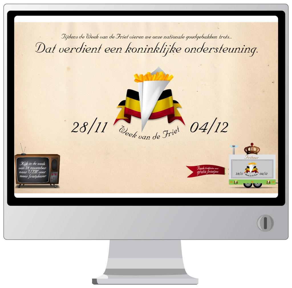 Website voor de Week van de Friet