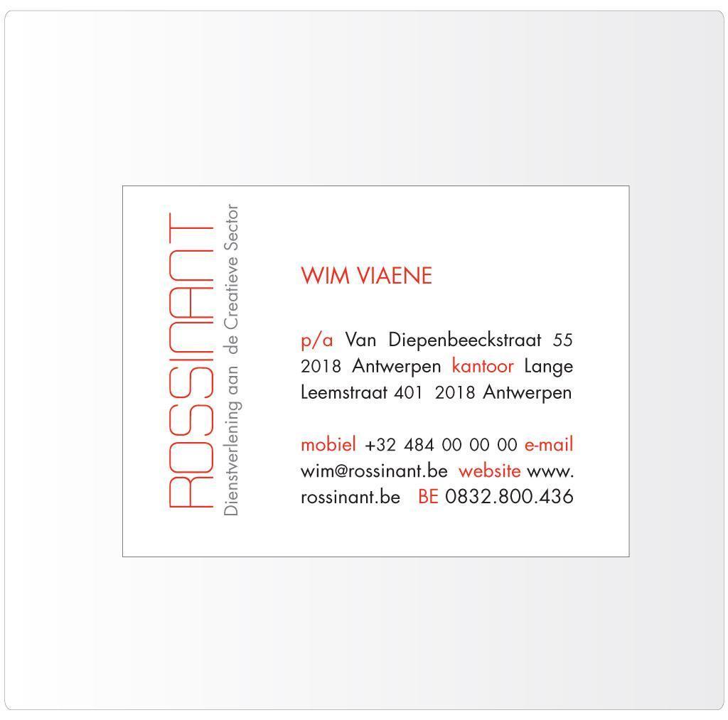 Naamkaartje voor Wim Viaene