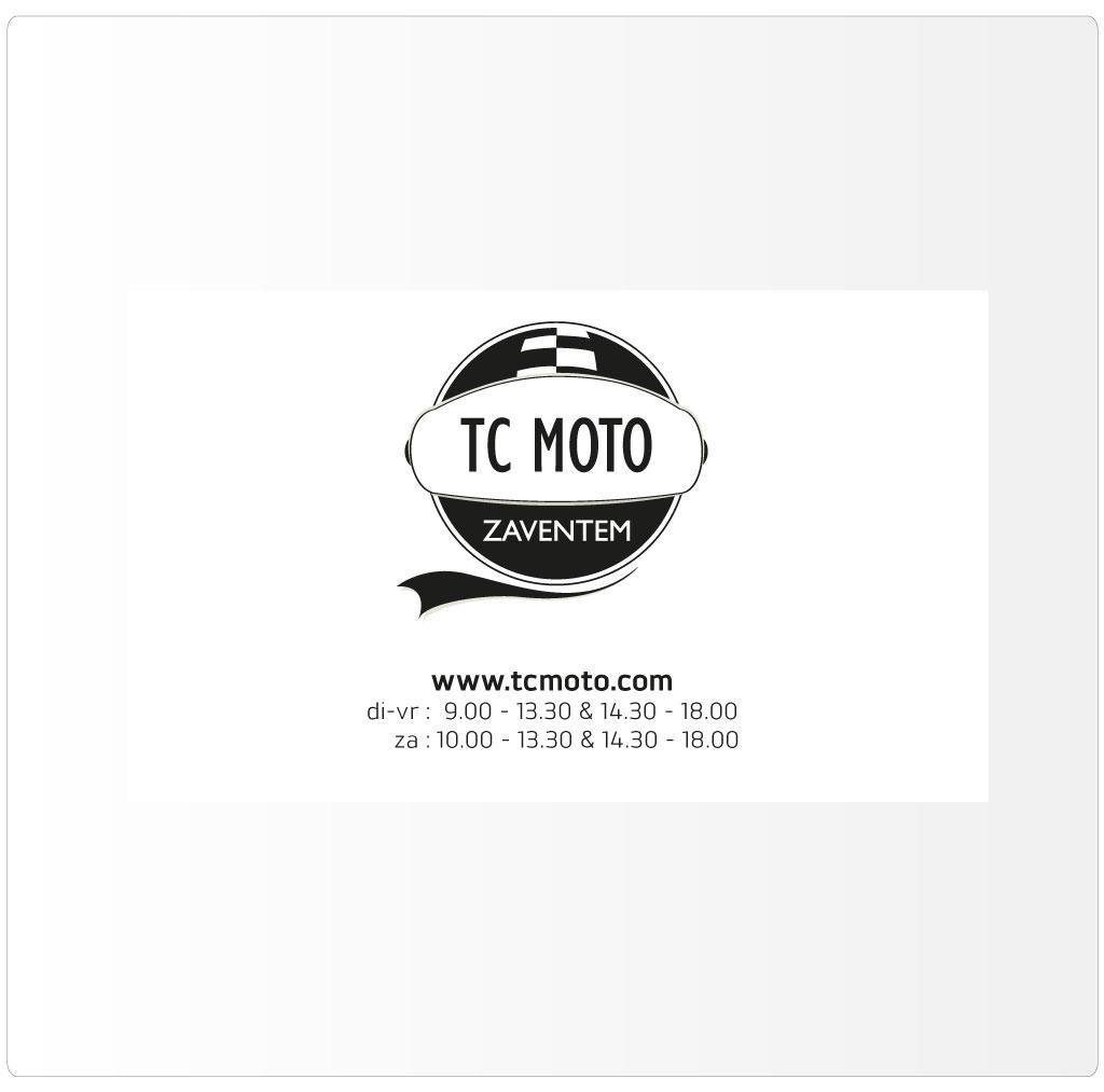 Naamkaartje voor TC Moto Zaventem, Triumph motordealer