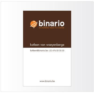 Binario business card