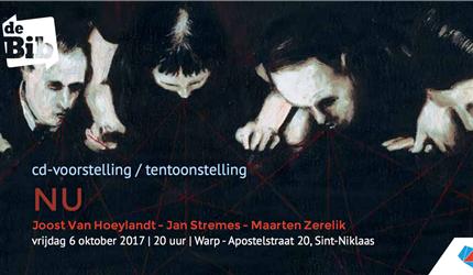 Te gast: CD-voorstelling & tentoonstelling NU | 6 oktober