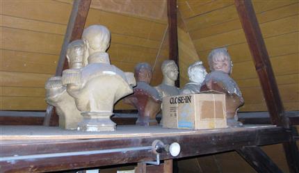 Pavilion of the hidden sculptures