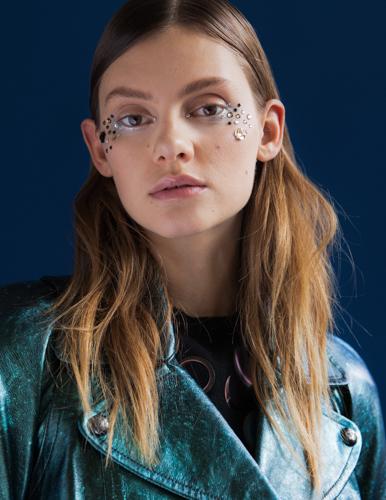 Marie Claire glitter